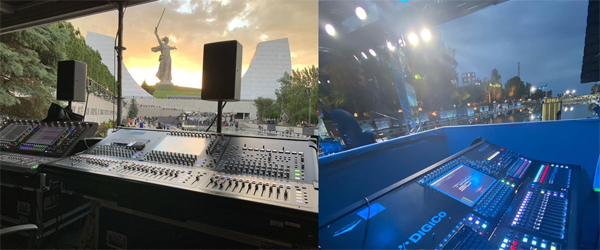4. Звук Победы на Мамаевом кургане c DiGiCo и STAGE AUDIO